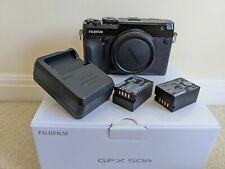 Fujifilm GFX 50R Black Body Digital Camera