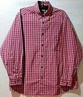 COUNTRY ROAD Long Sleeve Shirt Pocket Size XL Red Check Quality