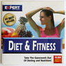 Expert Diet & Fitness CDROM, TESTED in 32-Bit Windows 10, Runs OK