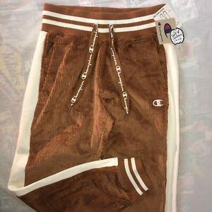 NWT Champion Reverse Weave Corduroy Sweatpants Size Small Joggers