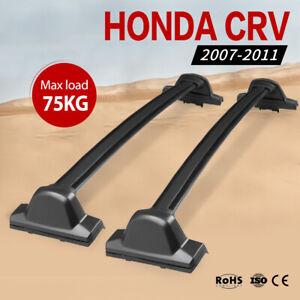 Roof Rack Bars For Honda CRV 2007-2011 Cross Bar Black Baggage Rack SUV
