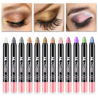12 Colors Waterproof Makeup Cosmetic Eyeliner Eye Shadow Crayon Stick Pen  Uxym