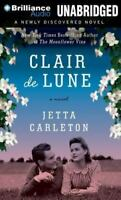 Clair de Lune by Jetta Carleton (2012, CD, Unabridged) Audio Book Free Shipping!