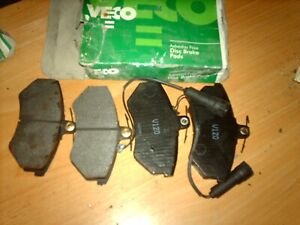 Brake pads set front for Audi 80 90100 200 inc Quattro  and Turbo 1983 - 1995