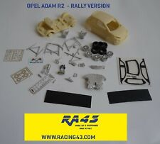 1/43 Opel Adam R2 Rally Ypres 2017 Marel Kit