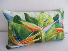 Tropical Bird of Paradise Painting Rectangular Cushion Cover 30x50cm Pillow Case