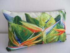 Tropical Bird of Paradise Painting Rectangular Cushion Cover 30x50cm Pillow Case