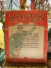 Partition La madelon de la victoire  Music Sheet