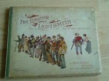 Antique Book 1900 The Leaguer of Ladysmith Boer War by Captain C M Dixon