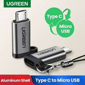Ugreen USB C to Micro USB Adapter Quick Charge Data Sync Converter Fr Samsung S7