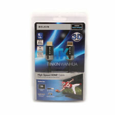 Audio Video Cable Belkin 1.8M 6FT HDTV High-Speed HDMI Cable w/ Ethernet 4K