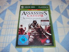 Assassin 's Creed II game of the Year Edition (Microsoft Xbox 360) nuevo embalaje original