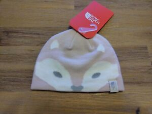 Baby Friendly Fox Face B Purdy Pink Hat By The North Face new with tags