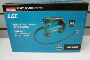 Makita DMP180ZX 18V LXT Li-Ion Inflator (Tool Only) New, Free Shipping