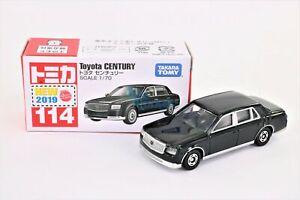 Takara Tomy TOMICA #114 Toyota CENTURY Scale 1/70 Diecast Toy Car Japan