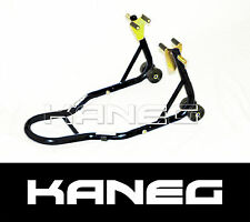 Motorcycle Front Paddock Stand Caliper Fork Lift - Black -