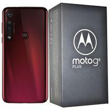 New Motorola Moto G8 plus XT2019 Dual-SIM 64GB Pink/Red Factory Unlocked 4G GSM