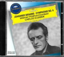 CD ALBUM / JOHANNES BRAHMS - SYMPHONIE N°4 WIENER PHILHARMONIKER CARLOS KLEIBER