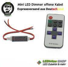 Mini LED Dimmer & Controller + 11 Key Fernbed. 5V, 12V, 24V offene Kabelenden