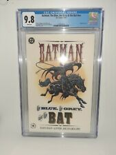 DC Batman The Blue The Grey And The Bat #nn Cgc 9.8 Embossed Cover 1992 FREE SH