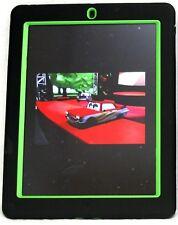 Heavy Duty Dual-Layers Hybrid KickStand IPAD 3&2 Combo Hard Case Black / Green