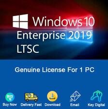 Windows 10 Enterprise LTSC 2019 32-64bit Activation For 1 PC Genuine