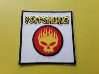 POP, ROCK, PUNK, METAL MUSIC SEW ON & IRON ON PATCH:- THE OFFSPRING