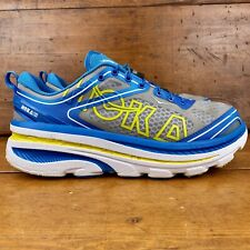 Hoka One One Bondi 3 Men's Size 8.5 Grey Blue Running shoes
