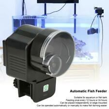 Automatic/Manually Fish Feeder Aquarium Tank Food Feeding Dispenser Tool