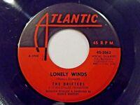 The Drifters Lonely Winds / Hey Senorita 45 Atlantic Vinyl Record