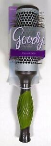 GOODY Grip N' Style Hot Round Brush All Purpose Styling - 1 Brush 03866 Green
