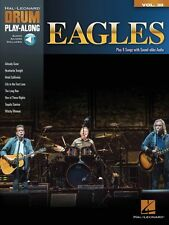 Eagles Drum Play-Along Book with Audio NEW 000143920