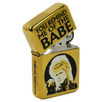 You Remind Me of the Babe Windproof Lighter Bowie 80s Movie Gift Labyrinth retro