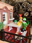 Vintage Playmobil Victorian Manson Patio Garden Set Doll House Furniture