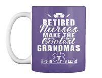 Retired Nurse Grandmas Gift Coffee Mug