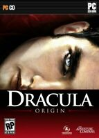 Dracula Origin PC video game 2008 Vampire RPG (New Factory Sealed) Windows XP