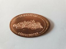 Elongated Coin Souvenirprägung Quetschmünze Königswinter Petersberg