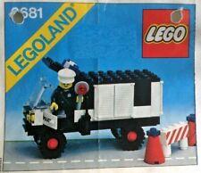 Lego - 6681 - Legoland - Polizeifahrzeug - Police Van - 1981