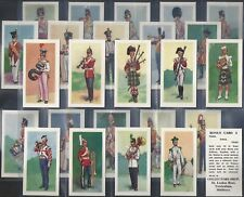 COLLECTORS SHOP-FULL SET- BANDSMEN OF THE BRITISH ARMY (25 CARDS) - EXC+++