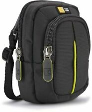 Case Logic DCB302 Compact Camera Case Black Protective Bag Holder Grey