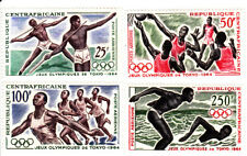 Central Africa 1964 Summer Olympic, Tokio 1964, MNH, perf.