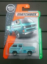 MATCHBOX VOLKSWAGEN TRANSPORTER CAB 2016 T25 DOUBLE CAB PICKUP LONG CARD SEALED