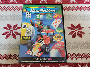Micro Machines - Authentic - Sega Genesis - Case / Box Only!