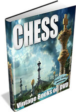 CHESS ~ Vintage Books on DVD ~ Strategies, Tactics, Game, Openings, Master