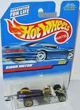 #852 - RIGOR MOTOR - purple - Hot Wheels 1998