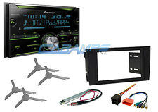 NEW PIONEER DOUBLE 2 DIN CAR STEREO RADIO BLUETOOTH W INSTALL KIT FOR 02-05 A4