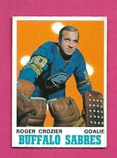 1970-71 OPC # 145 SABRES ROGER CROZIER EX+  CARD (INV# D2813)