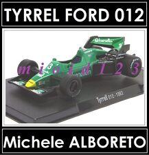 1/43 - TYRRELL 012 : Michele ALBORETO - 1983 - Die-cast - RBA FORMULA1
