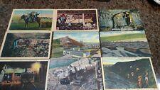 Lot of 11 Pennsylvania Anthracite Coal Linen Postcards