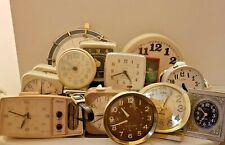 Lot of Vintage Alarm Clocks (Plus): Sunbeam, GE, Ben, and others. Top Deal!